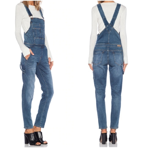 BLANK NYC 28 Rolling in the Hay overalls, Revolve